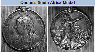 Queen's Medal (front and rear)